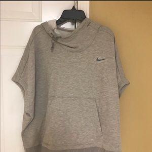 New w/tags Nike WMN's TRN CROPPED loose sweatshrt.
